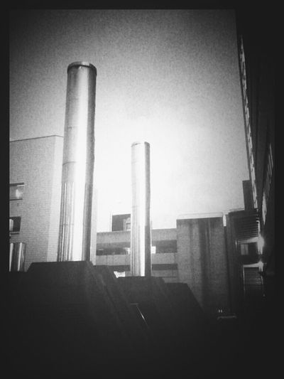 "Andrography Phoneography Shootermag Vignetteforandroid ""Emission Transmission"" Smokestacks"