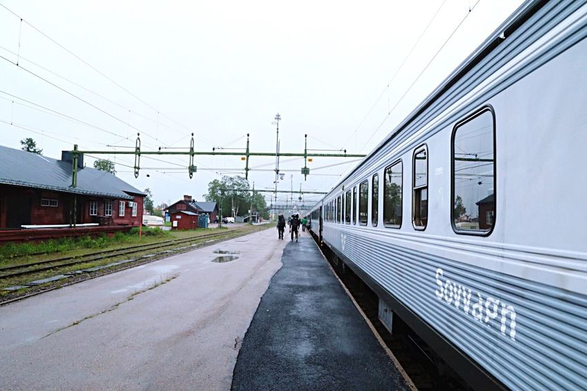 Traveling Travel Travelphotography Travel Photography Train Transportation Train Station Trainstation Sweden Norrland Trainset Sovvagn Vacation Time Vacations Backpacking Backpackers Electricity  Electronic Engines Engine