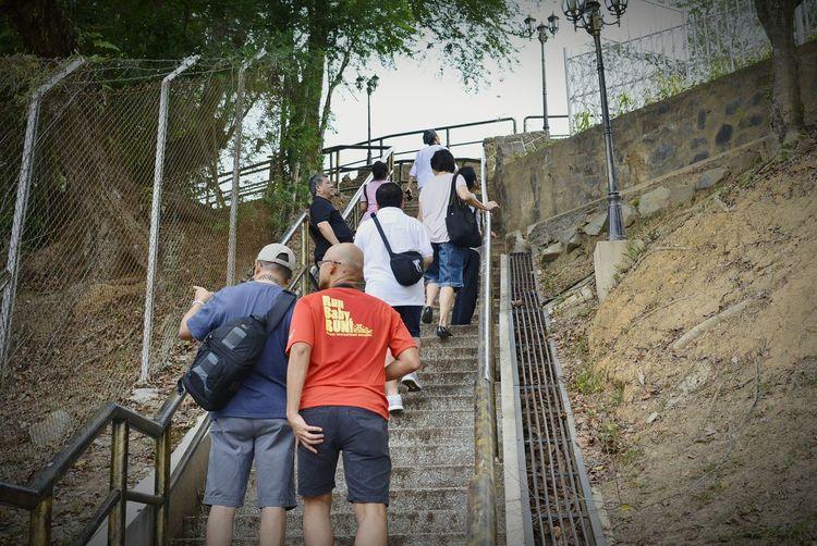 Up we go!!! Kota Kinabalu Malaysia EEA3 - Kota Kinabalu