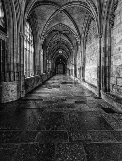 Arch The Way Forward Indoors  Architecture History Built Structure Corridor Day No People