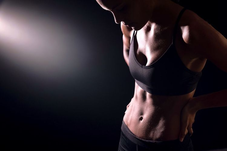 Muscular Build Sport Strength Shirtless Studio Shot Athlete Standing Young Adult One Person Healthy Lifestyle Adults Only Exercising Only Men Sports Clothing Portrait People Human Body Part Girl First Eyeem Photo Fresh On Market 2016