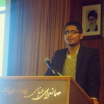 My Speech in Isfahan for Tourism Development . Navidkamali Iran Isfahan نوید_کمالی Navidkamali Nkamali_ir