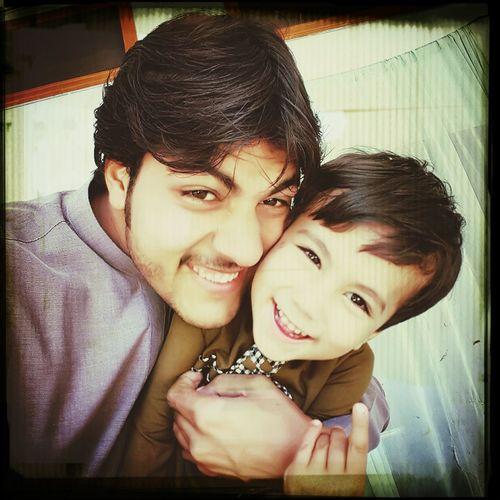 Me &Adil Bacha.