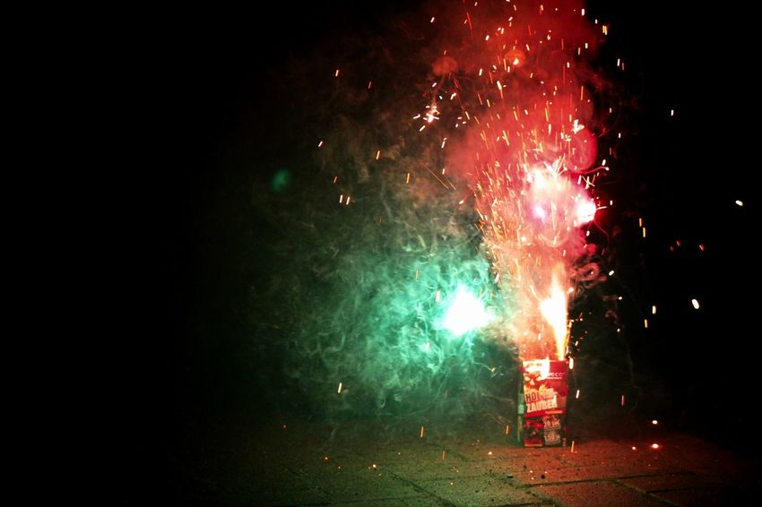 Photography In Motion New Years eve colourful