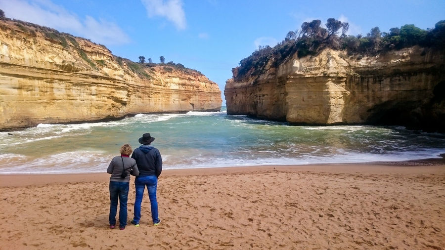 Australia Beauty In Nature Bonding Friendship Greatoceanroad Nature Sea Togetherness Water
