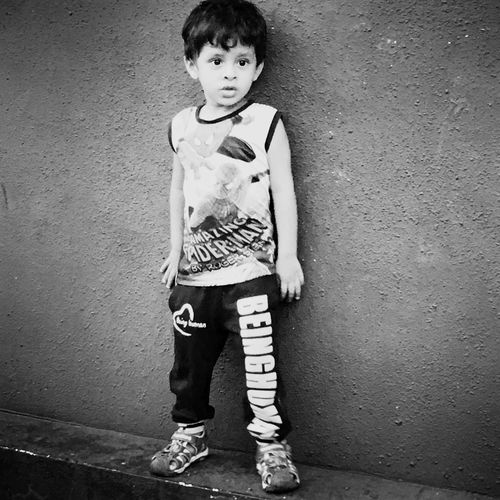 Full Length One Person Portrait Front View Shoe Children Only First Eyeem Photo