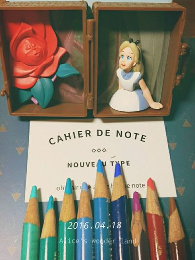 Alice Toy Note