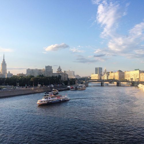 Russia Moscow River Riverside Seeing The Sights The Architect - 2016 EyeEm Awards Summer Moscow Life River View Riverscape River Collection City Life