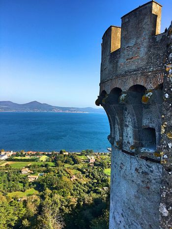 Castle of Bracciano Castle Tower Castle Tower Lake View Lake Water Sky Nature Architecture Blue Scenics - Nature Building Exterior Beauty In Nature Sunlight Clear Sky Land No People