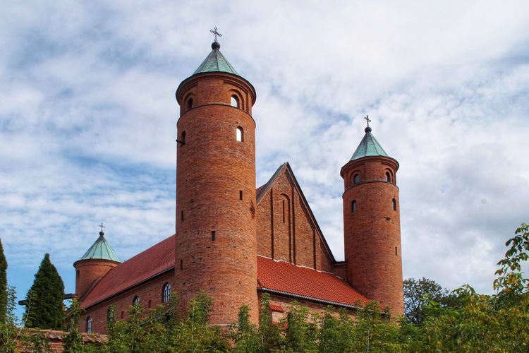 Church in Brochów Cloud - Sky Christianity Catolicism Religion Church Architecture Church Towers Church History Red Brick