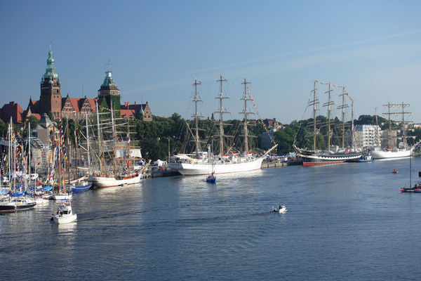 Odra Poland Szczecin Tall Ship Yachts Architecture Boat Harbor Mast Mode Of Transport Moored Nautical Vessel Polen River Sailboat Sailing Sailing Boat Sailing Boats Ship Stettin Tall Ship Transportation Water Yacht Yachting