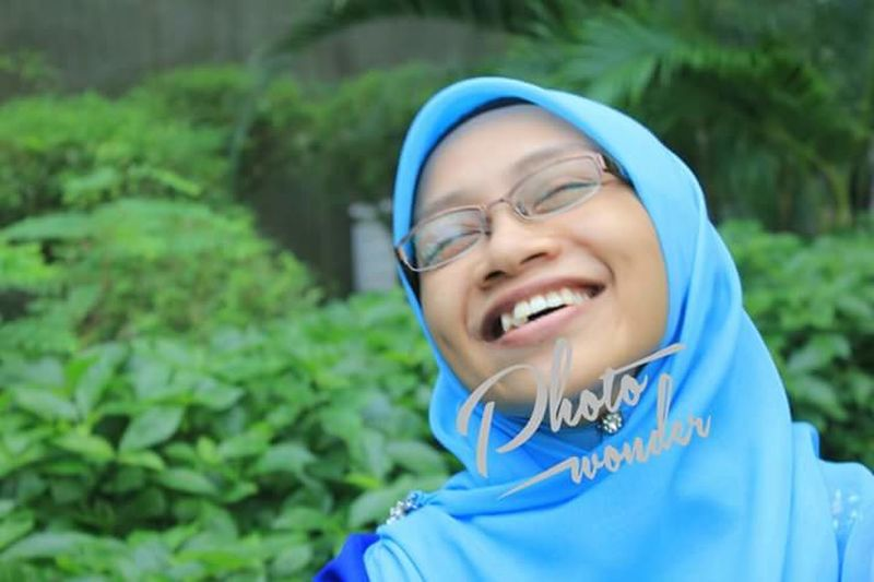 EyeEmNewHere Smiling Eyes Closed  Blue Happiness Eyeglasses  Outdoors Cheerful