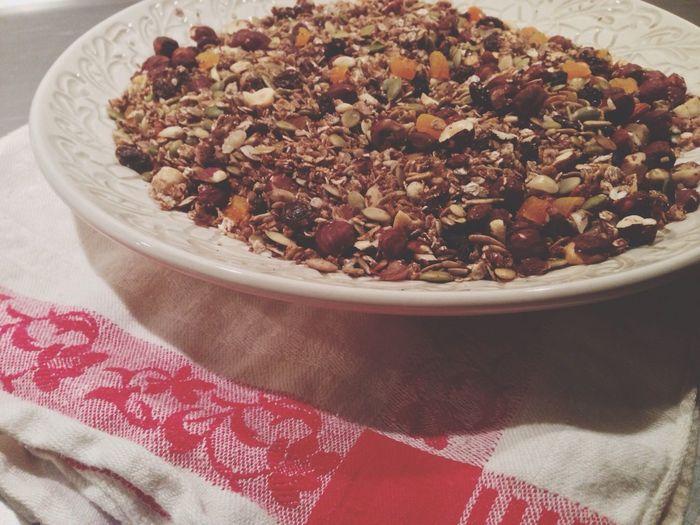 Homemade Granola I Love Food! Breakfast Sweden