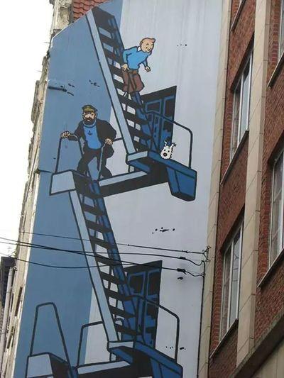 Tintin Street Art First Eyeem Photo