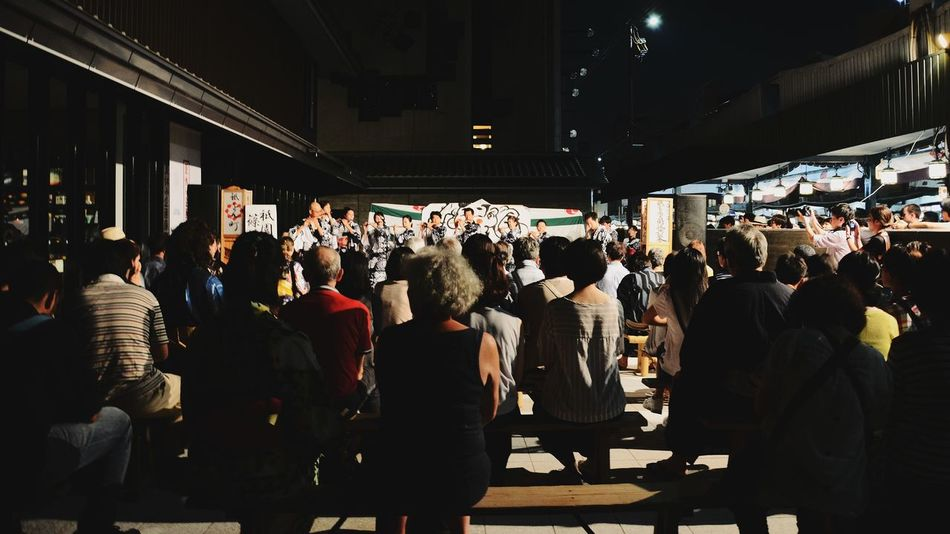 Large Group Of People Arts Culture And Entertainment Music Festival Concert Crowd People Audience Tradditional Culture Japan Ultimate Japan Capture The Moment Listen Listening To Music Entertainment Night Dark Fine Art Photography Real People 京都 Kyoto Adult EyeEmBestPics Beautiful EyeEmNewHere EyeEm Selects Breathing Space Investing In Quality Of Life The Week On EyeEm