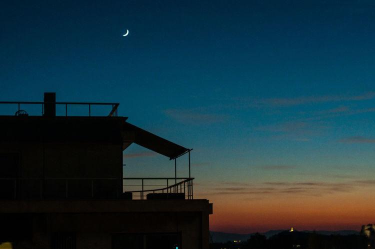 Dusk Sky Blue Dusk Colours Dusk In The City Nature Colour Your Horizn Night Sky Silhouette Sillouette Sunset