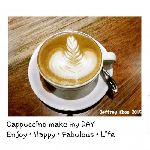 Coffee Capuccino Yummy Makemyday Enjoy Happy fabulous butterworth simplelife love cafe Dcafe excited Anewday sweet Good night
