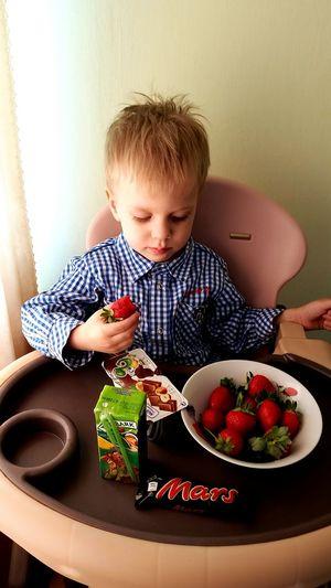 MyLove❤ Child Kid Summer Strawberry