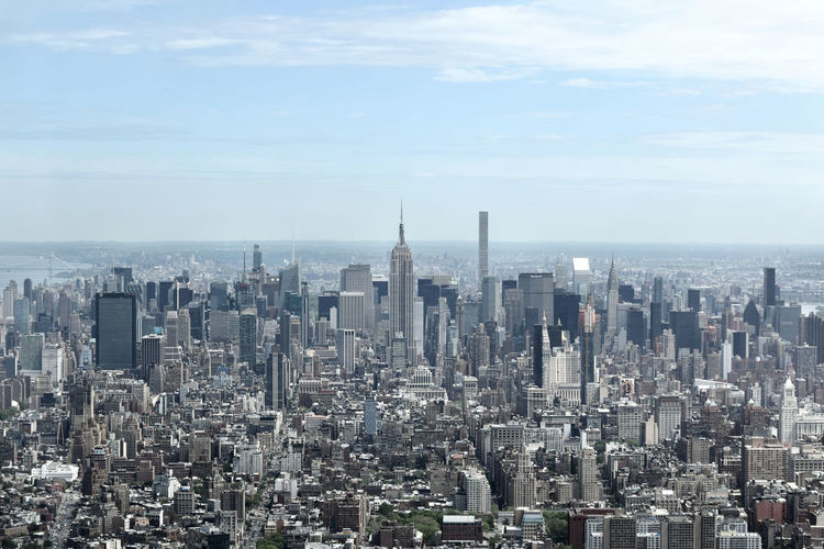 Aerial View Building City Cityscapes Empire State Building Landscape New York New York City NY NYC NYC Photography Tower United States USA View