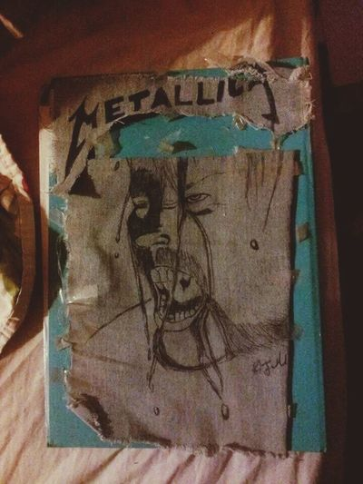 Metallica James Hetfield MyDrawing Check This Out
