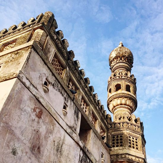 Golconda Fort Historical Building India Traveling