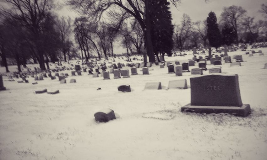 Paying My Respects Rest In Peace. To my grandfather, brother and other family Black & White Milwaukee