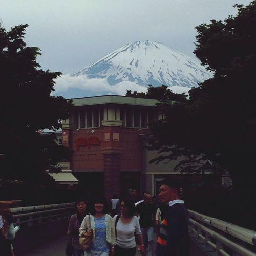 While I were shopping, I see mt.Fuji!