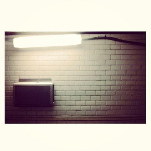 Underground art deco. Underground Madrid Metro Indesign Holes Vuela