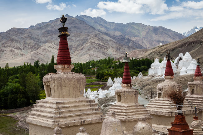 Stupas near Stok palace - Leh, Ladakh, Northern India Mountain Religion Jammu And Kashmir Himalayas Canon EOS 5D MkII Eos5dmarkii Indien Spirituality Buddhist Culture Leh Ladakh India Buddhism Buddhist Tradition Tibetan Culture Travel Travel Destinations India Leh The Week On EyeEm Landscape Stupas