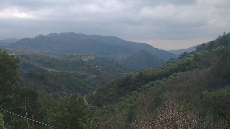 Landscape of Sila Calabria Mountains Italy ... Born To Be Wild On The Road