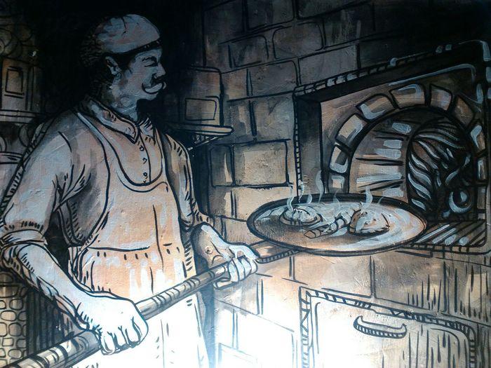 Arte Latascaorizaba Wall Wall Art Sinfiltro Mural Cocina Cafe Coffee Time Chef Cocinero