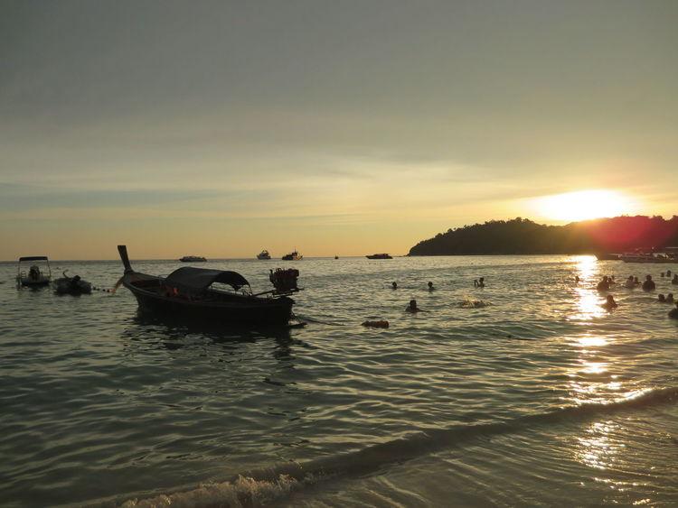 sunset @lipe island