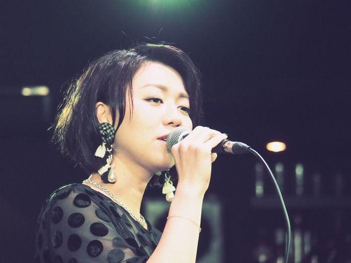 OSAKA Japan ASIA Suita Take Five Natsuki Morikawa Jazz Singer  Live Beautiful Woman Music Healing Night Olympus PEN-F 大阪 日本 吹田 森川七月 美人 女神 可愛い 癒し 最高の時間