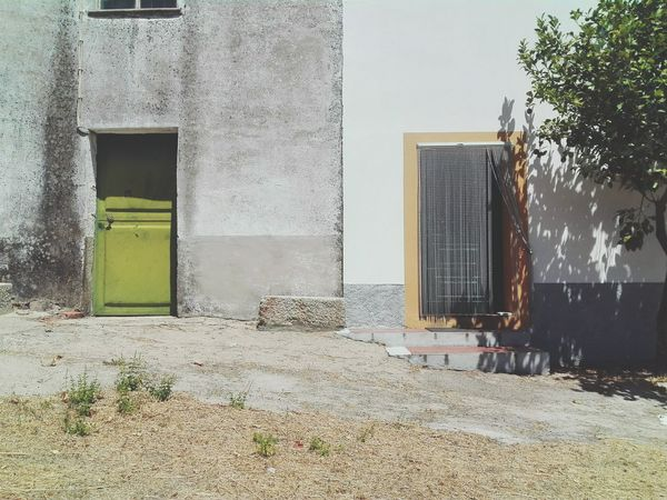 I took this picture to make it a symbol of the houses in Alentejo,Portugal and to emphasize the diference between my grandparents old and new houses Interiorportugal Home Is Where The Art Is The Week On EyeEem BeforeAndAfter  Newandold Summer Beirabaixa House Two Is Better Than One