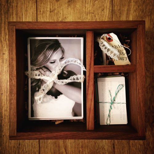 This is a custom photo box I made for a local photographer Kimberly Bayer. I love working with such talented people! Wedding Photography Prints USB Etsy Wedding Photography Photobox