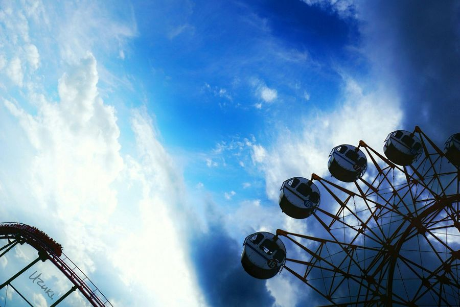 Sky Coulds And Sky Nature Ferris Wheel Urban Exploration Feel The Journey Fine Art Landscapes Light And Shadow Silhouette Landscape Taking Photos Getting Inspired EyeEm Best Shots 15_07