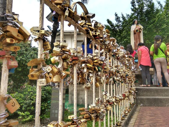 Kulotitayclicks Mobile Global Shooters Mobile Photography Eyeem Philippines Devotion Lovelock Vows Multi Colored Outdoors