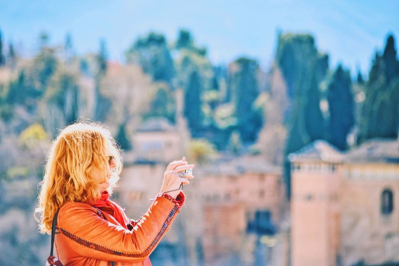 Summer topics UNESCO world heritage site World Heritage site selective focus World heritage tourism alhambra Visual Cr Tourism People Taking Photos UNESCO World Heritage Site World Heritage Site UNESCO World Heritage Site World Heritage Site Lifestyles Focus On Foreground Blond Hair Outdoors