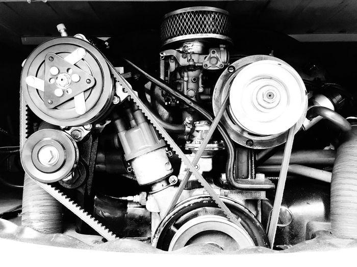 Volkswagen Type 2 Engine. Bulli Volkswagen Volkswagenbus German Cars Classic Car Vintage Cars Engine Hello World Tadaa Community