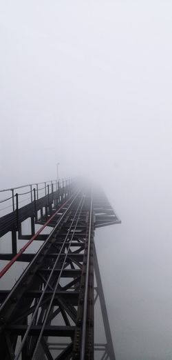 Fog Transportation Water Connection Architecture Built Structure Bridge No People Sky Day Outdoors Travel Nature Mode Of Transportation Bridge - Man Made Structure