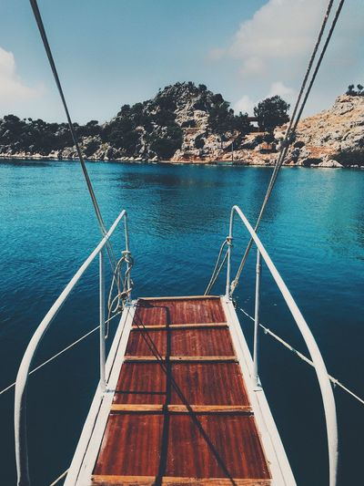 Moments Live Kekova Tyrkey  Water Nature No People Day Sky Tree Blue Pool