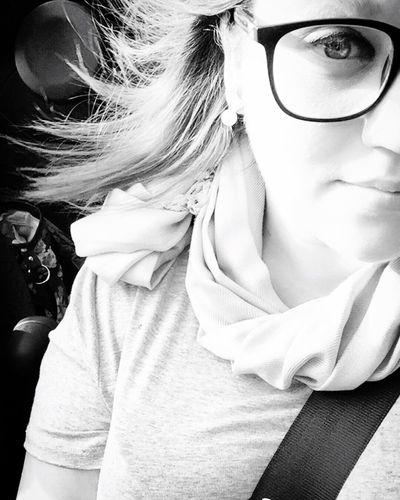 In the fiat top down Fiatabarth Fiat Sunroof Selfie ✌ Selfie