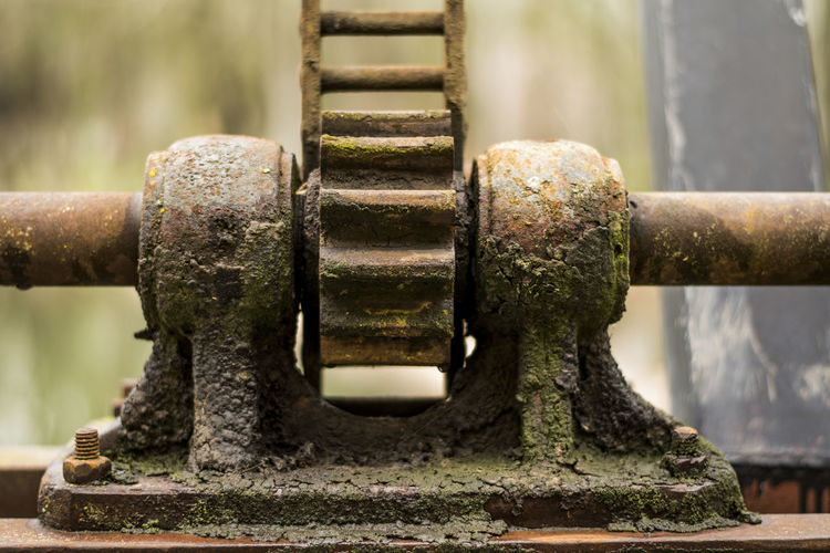 Oxide Metal Engine Engineering Metal Metal Industry Old Oxidation Oxidation Process Water Waterfall