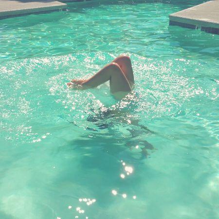 Underwater handstands Swimming Pool Summer2015 Kids Being Kids Vancouver Washington