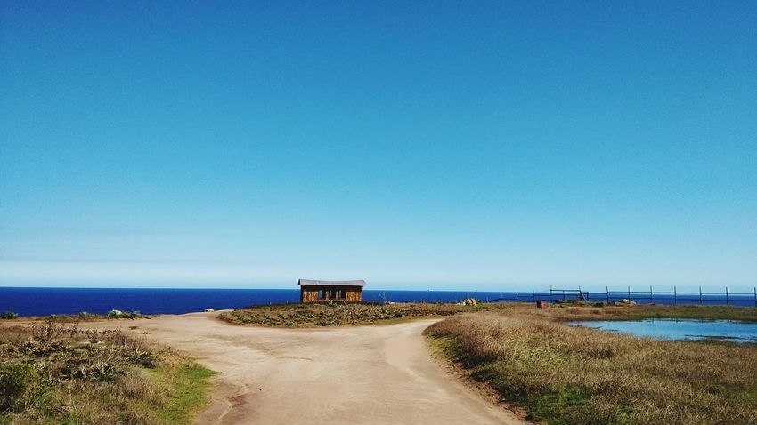 Beautiful Landscape Playa Beach Algarrobo Punta De Tralca Chile