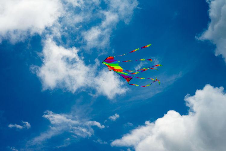 Single kite up