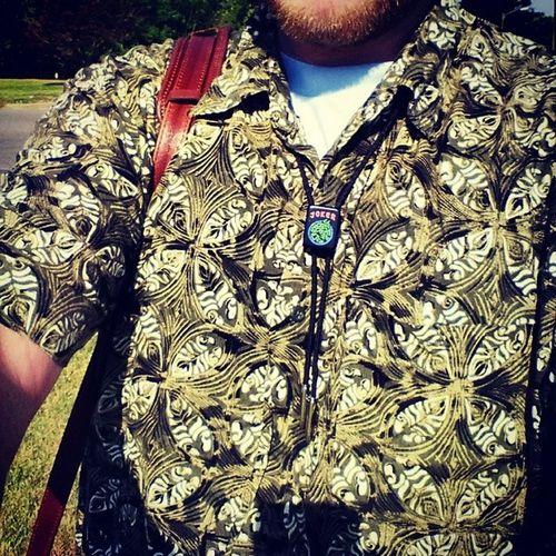 The Blackjoker Bolotie ... Made by Shep for @Kuchi3Star. Steez dope clothing bolo apparel underground exclusive daggum buyone