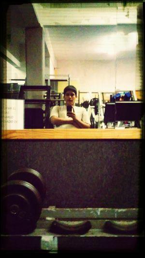 Aki en el gym