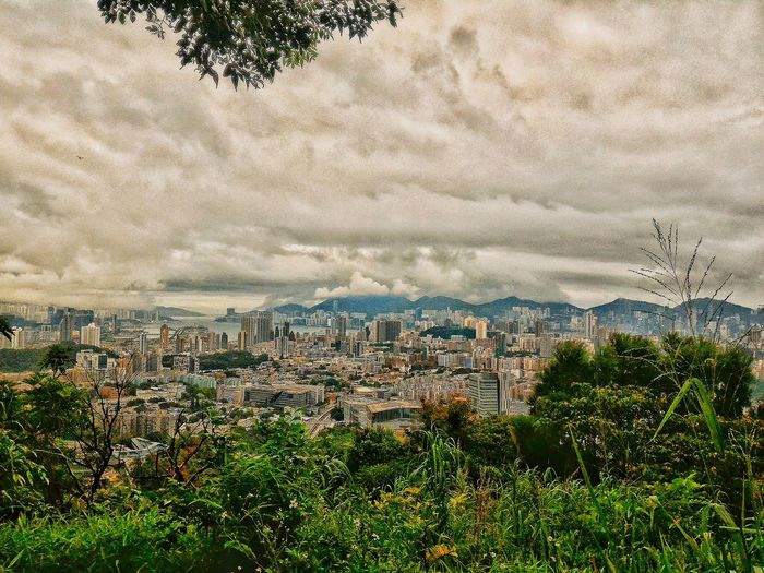 City View  Panoramic Landscape Cityscapes Clouds And Sky Variation Atmospheric Cloudy Sky Building And Sky My City Is Beautiful Atmospheric Nature Original Experiences Hello World Unique Perspectives Check This Out 😊 Hiking_walking Atmosphere Of Peace