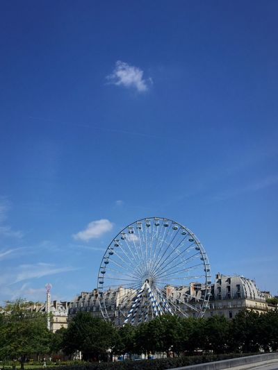 France Paris Summer Bigwheels Cloud